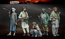 Skala Modelle 1/35 Afghanischen Rebels Großen Satz 5 figuren figur uncolor Harz Modell