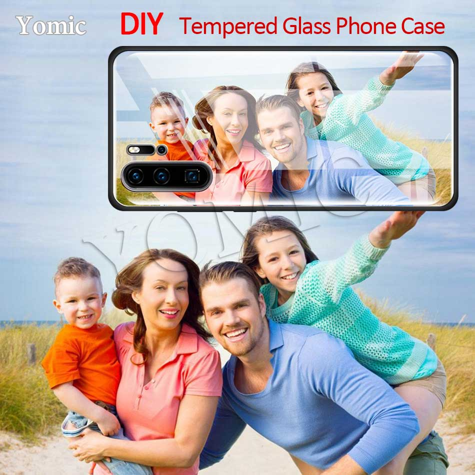 Чехол для телефона из закаленного стекла для Huawei P30 P40 Lite E P10 P20 Mate 30 20 Honor 20 Pro 8X фото