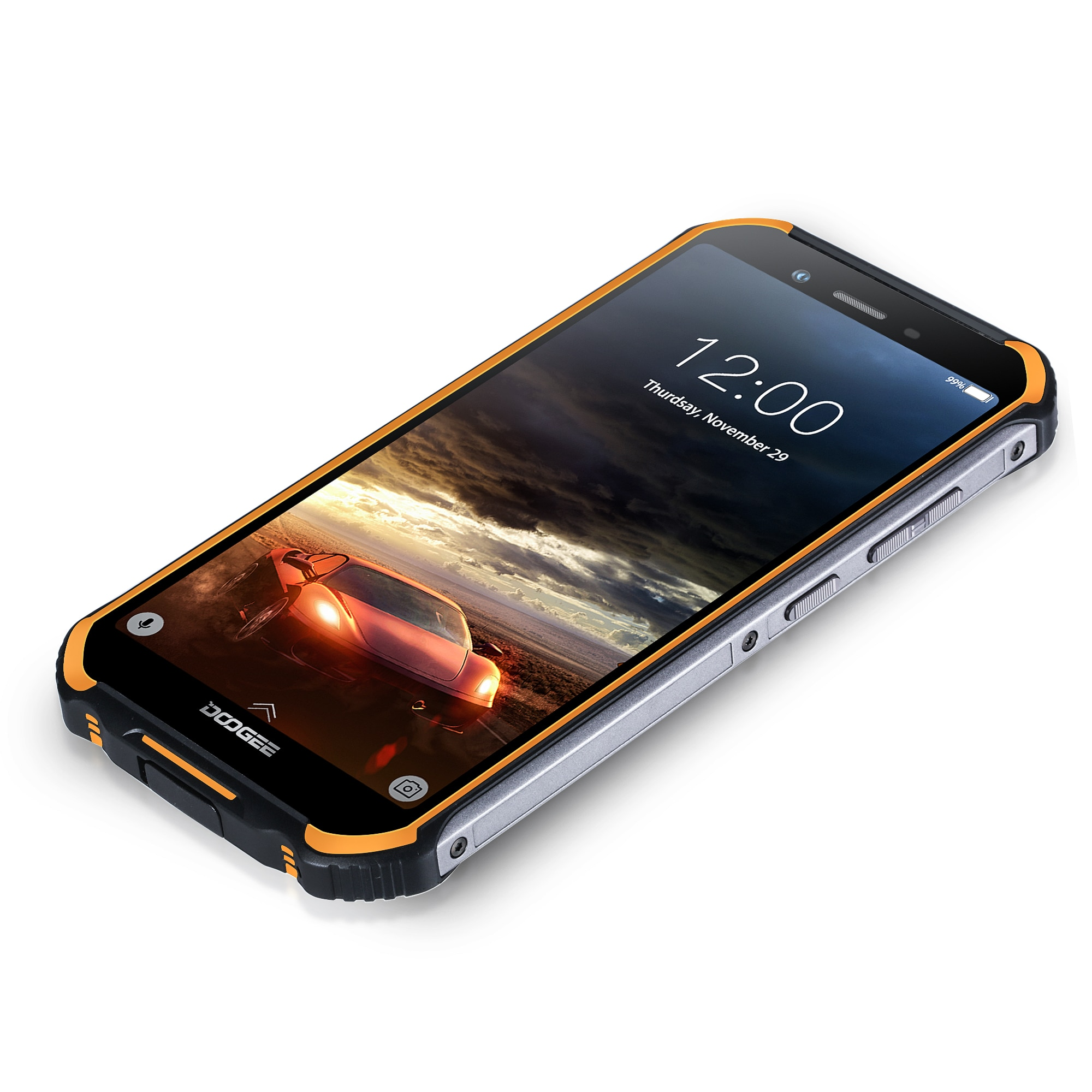 DOOGEE S40 Android 9.0 4G Network Rugged Mobile Phone 5.5inch Cell Phone MT6739 Quad Core 3GB RAM 32GB ROM 8.0MP IP68/IP69K enlarge