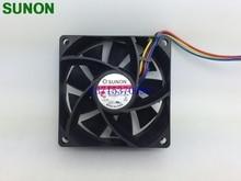 Pour Sunon MF70251V2-Q00C-S99 7025 7CM 70*70*25mm DC 12V 4 broches 0.90A PWM ventilateur de refroidissement