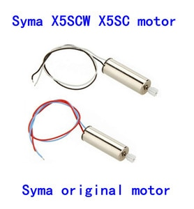 2PCS Syma x5sc / 2.4G four axis RC W UAV / RC helicopter parts main motor A+ main motor B