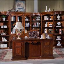 Amerikanischen Möbel dunkle Farbe Schreibtisch Studie Schreibtisch mit Schublade Speicherfunktion p10275