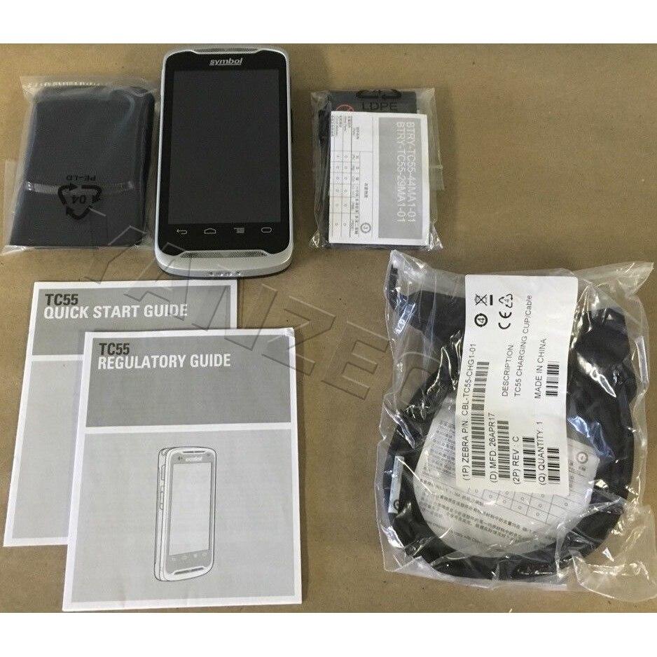 TC55BH-HJ11JS android pda scanner para zebra símbolo tc55 handheld móvel 1d 2d scanner de código de barras