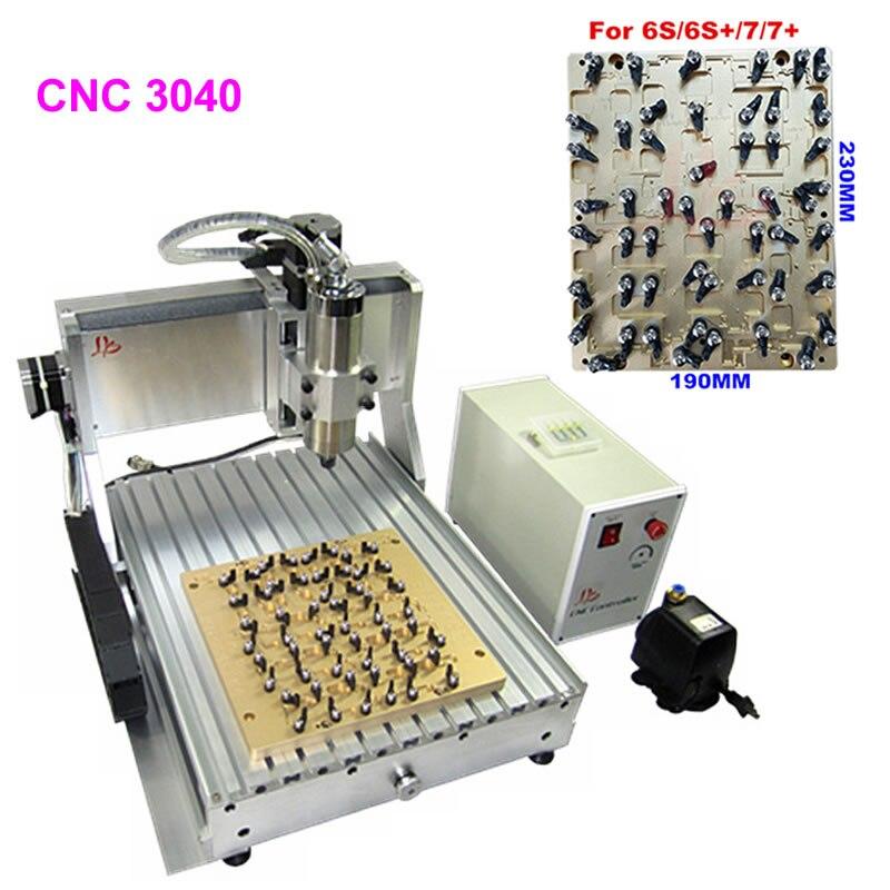 LY التصنيع باستخدام الحاسب الآلي IC طحن تلميع آلة الحفر لإصلاح اللوحة الرئيسية فون