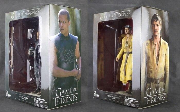 HBO TV Series Game Grey Worm Oberyn Martell Dark Horse Deluxe 23cm Figure Figurine