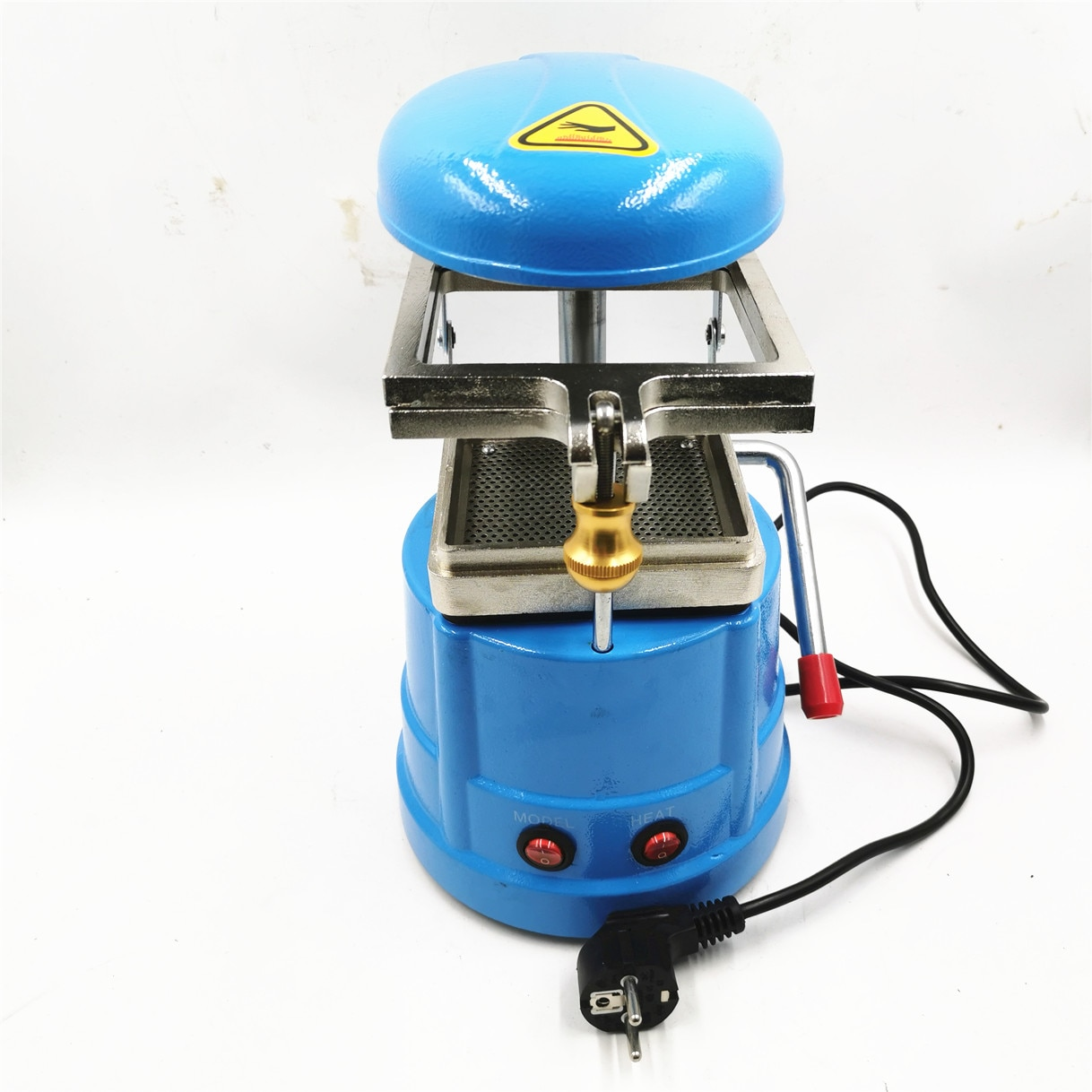 Dental Laminator Dental Lab Equipment Small Dental Vacuum Former Vacuum Forming And Molding Machine Oral Material Making Tool enlarge