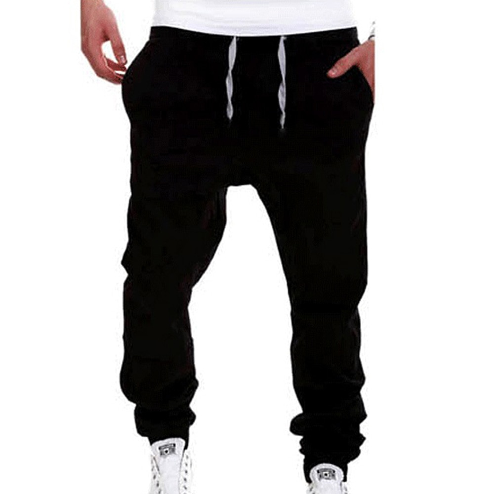 Männer Hosen Jogginghose Slacks Jogger Sportwear Baggy Hosen