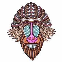Autocollant de dessin animé singe   Patch brodé, mignon, en Denim, sur les patchs pour veste moteur, autocollant de dessin animé pour vêtements, offre spéciale