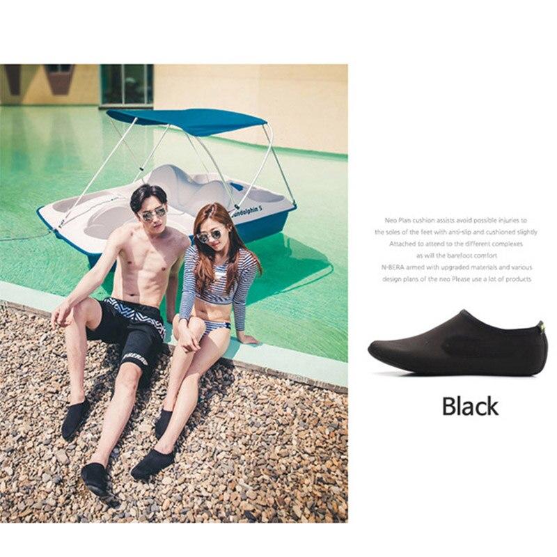 High Durable Sole Barefoot Water Skin Shoes Aqua Socks Beach Pool Sand Swimming Yoga Water Aerobics