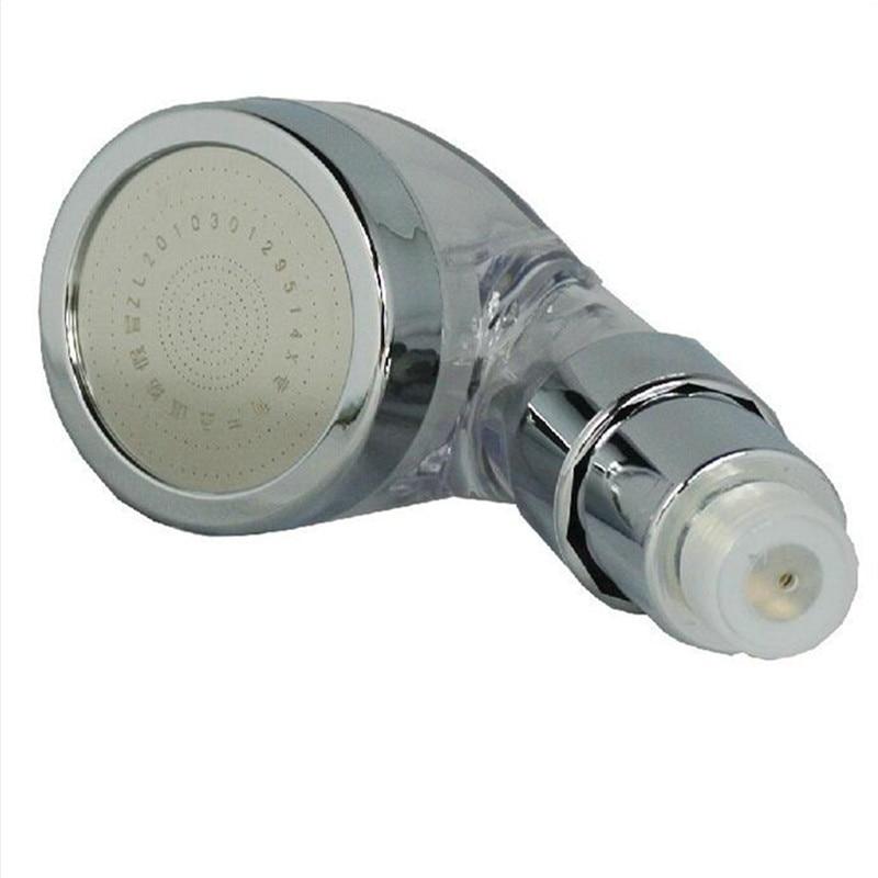 Ванная комната высокого давления спрей ручной душ отрицательных ионов душевая головка PC материал прозрачный душ сопло для водонагревателя
