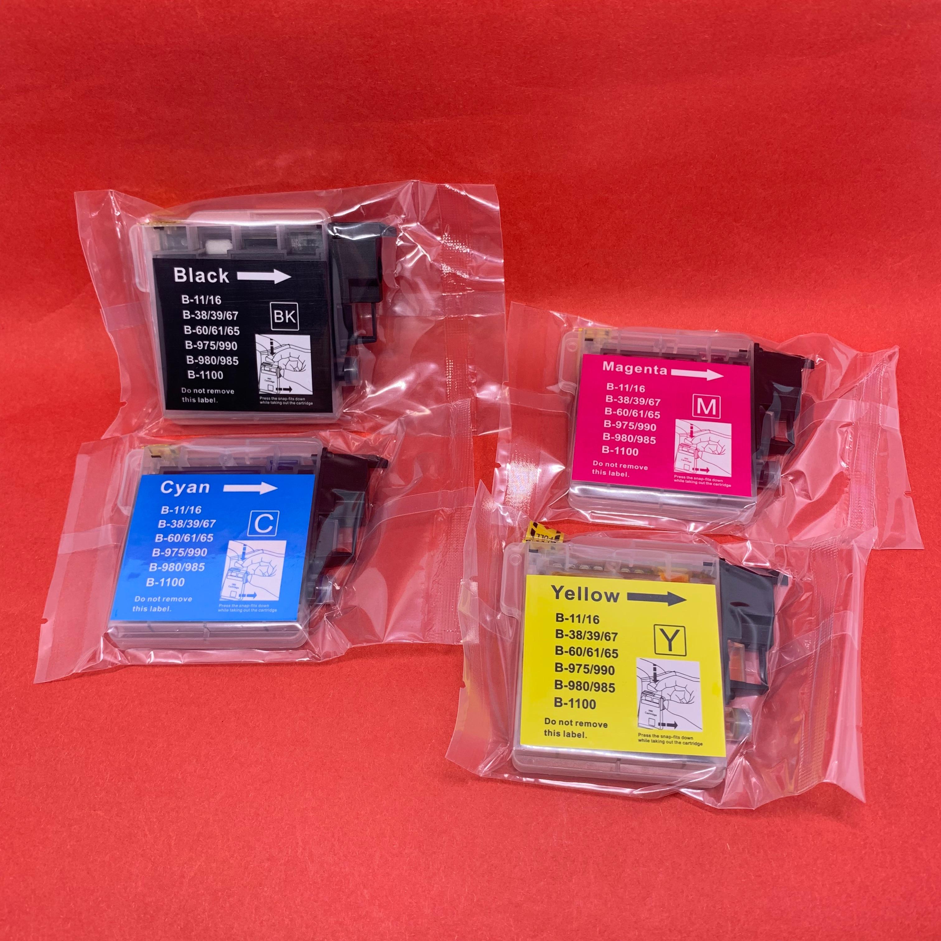 YOTAT cartouche dencre Compatible LC39 LC60 LC975 LC985 pour Frère DCP-J125 DCP-J315W DCP-J515W MFC-J220 MFC-J265W MFC-J410/J415W