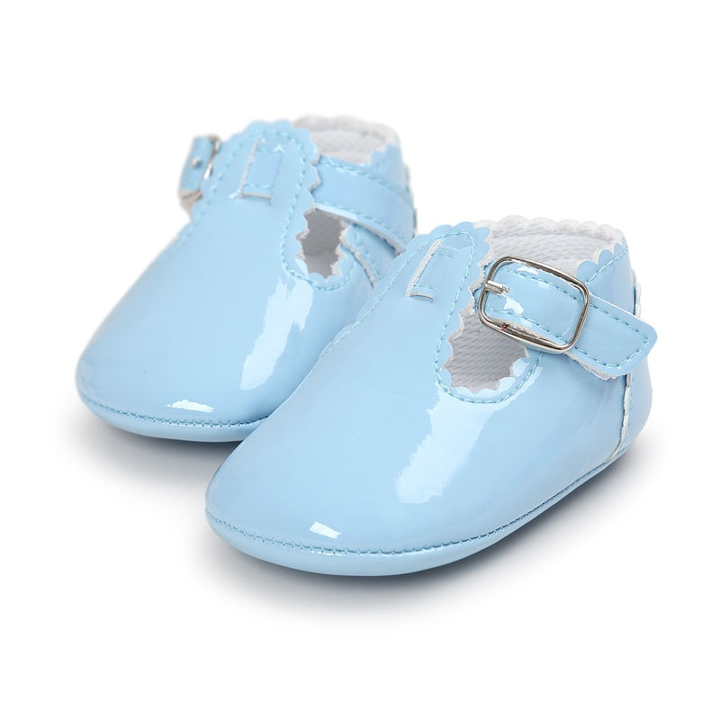 New Baby Girls Toddler Fashion Shoes Newborn Infant Kids Childrens Bow Pram Wedding Anti-slip Party