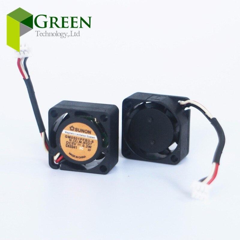 SUNON-2010 20MM 2cm 5V 0,2 w 20*20*10mm ventilador de refrigeración mini portátil ventilador bola GM0501PFB3-8