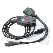 Дешевые Galletto 1260 ЭБУ чип Тюнинг Интерфейс Настройка EOBD хит продаж Galletto устройство для перепрограммирования ЭБУ v.1260 зарядных порта USB для автомобиля диагностический OBD2 кабель