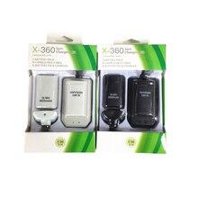 Double batterie Rechargeable portative + paquet de câble de chargeur dusb pour le contrôleur sans fil de XBOX 360