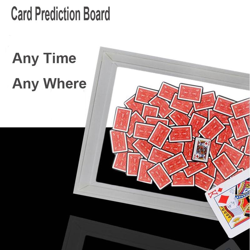 Marco de cartas de predicción, trucos de Magia, envío gratis, juguete de truco de Magia de primer plano