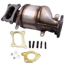 المحول الحفاز لهوندا ريدجلاين 2009-2011 3.5L V6 المبرد الجانب الأمامي LH