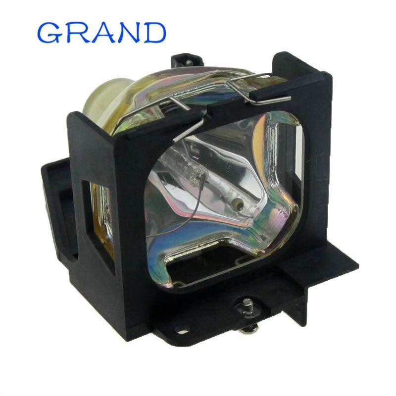 Совместимый проектор лампа TLPL55 для Toshiba TLP-261M 261M TLP-550 TLP-550C TLP-551 TLP-551C TLP-560 TLP-560D Happybate