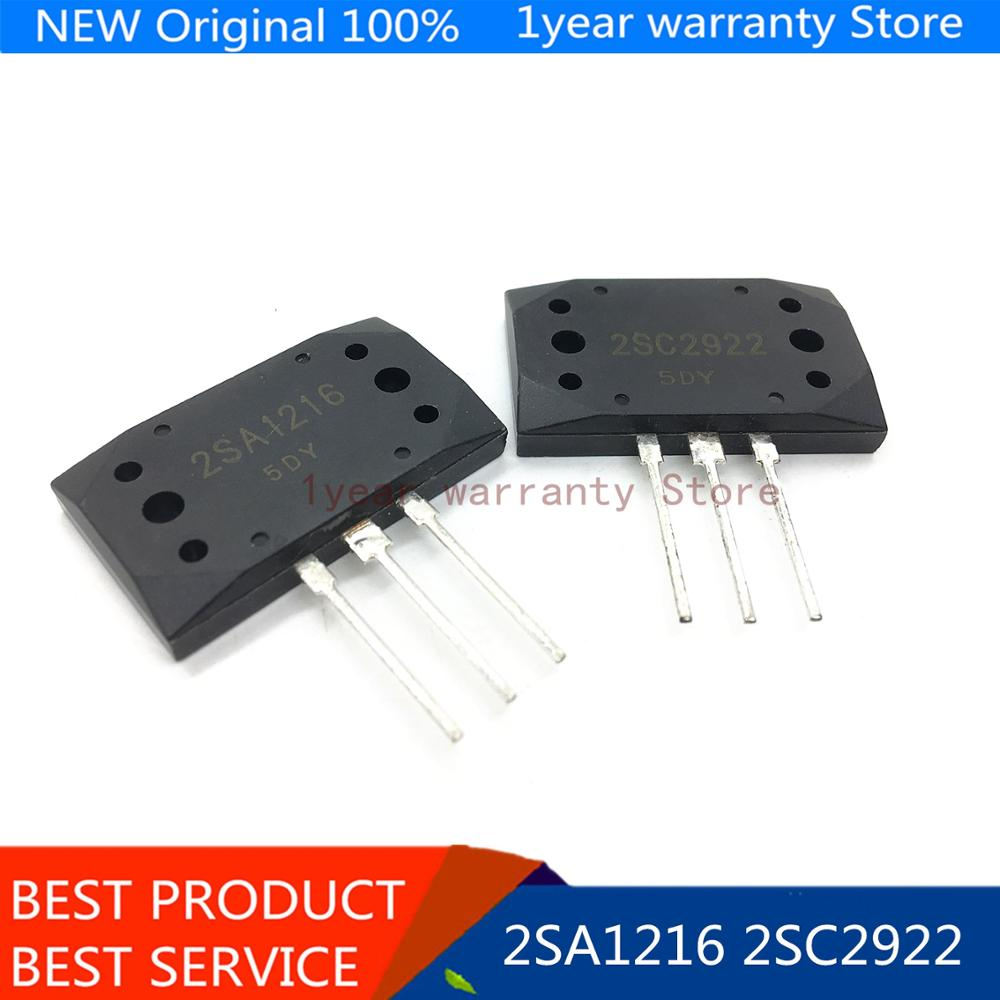 5 pares 2SA1216 2SC2922 MT-200 transistor NPN amplificador de Audio + PNP