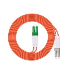 5PCS/lot Optical Fiber Jumper Patch Cord Cable,LC/APC-LC/UPC,3.0mm Diameter,OM1 Multimode 62.5/125,Duplex