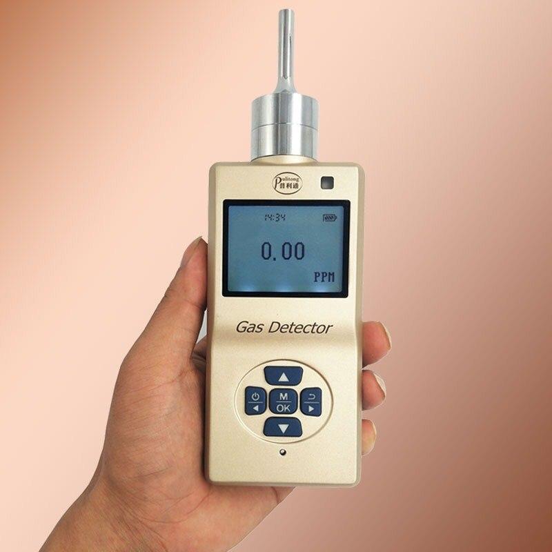 1 Juego de Detector de Gas portátil CO2 Bomba De probador de aire de bomba de succión CO2 Monitor de Metal Shell Detector de aire de Gas de baja potencia de Gas analizador de Sensor