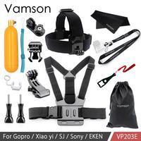Крепление нагрудного ремня Vamson для камеры Go Pro, Go Pro, 8, 7, Gopro Hero 9, 8, 7, 6, 5, 4