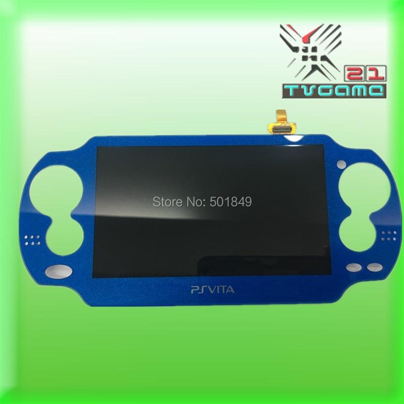 Pantalla de Digitalizador de pantalla táctil de alta sensibilidad disponible en 5 colores para consola de juegos PS Vita 1000 PSVita 1000