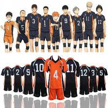 Haikyuu Cosplay Costume Karasuno lycée volley-ball Club Hinata Shoyo vêtements de sport maillot uniforme