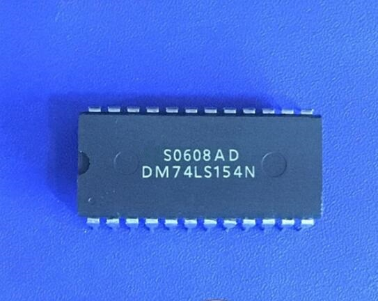 10 pçs/lote 74LS154 DM74LS154N SN74LS154N GD74LS154 HD74LS154P DIP24 Wide-body