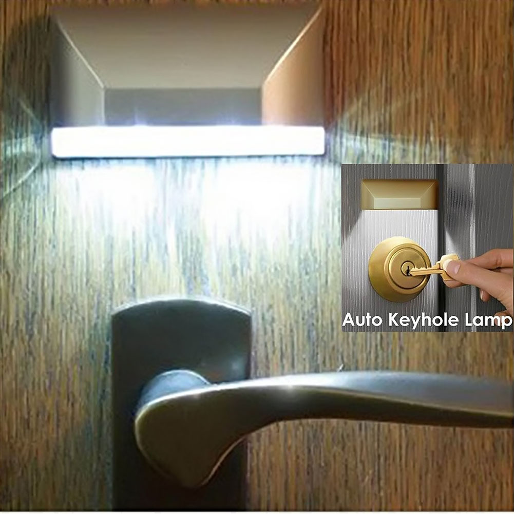 Светодиодный дверной замок, индукционные лампы 1,5 В, инфракрасный датчик, для шкафа, шкафа, туалета, ночник