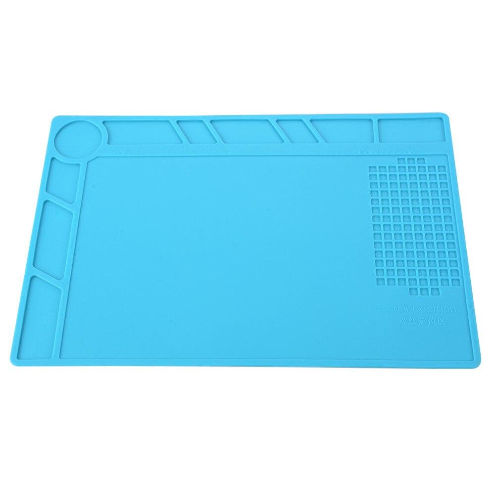 Insulator Silicone Mat Heat Insulation Pad High Temperature BGA Workbench Welding Anti-static Magnetic Pad Phone Repair Tools