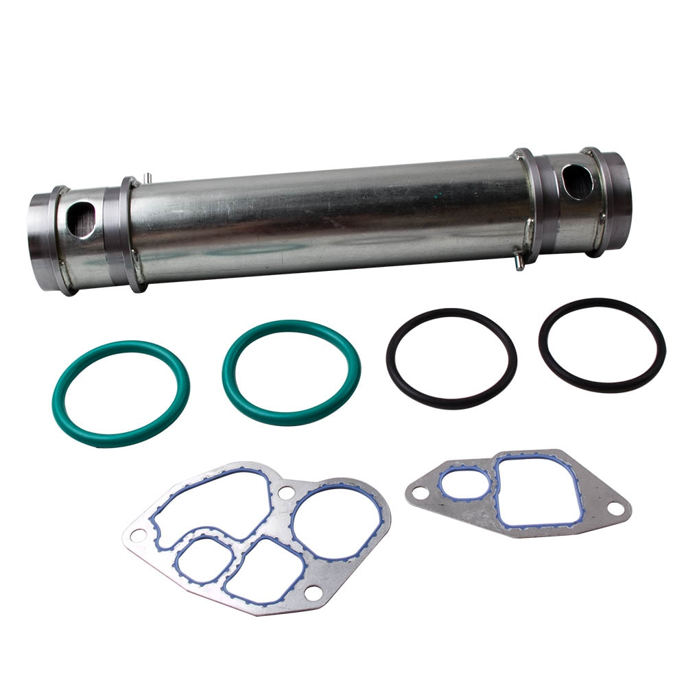 Kit de refroidisseur dhuile pour moteur Diesel   Pour 1994-2003 Ford 7.3L avec joints détanchéité,