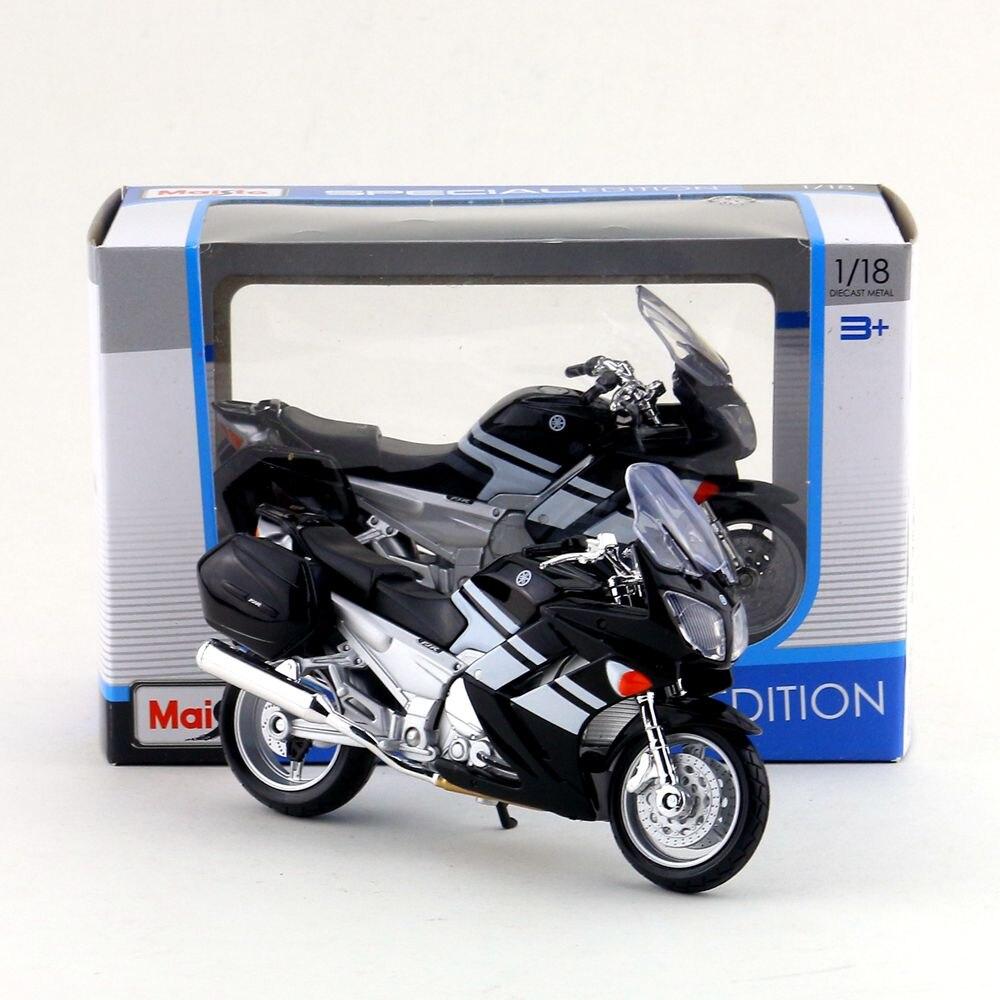 Frete grátis/maisto brinquedo/diecast metal motocicleta modelo/118 escala/2006 yamaha fjr 1300/coleção educacional/presente para o miúdo