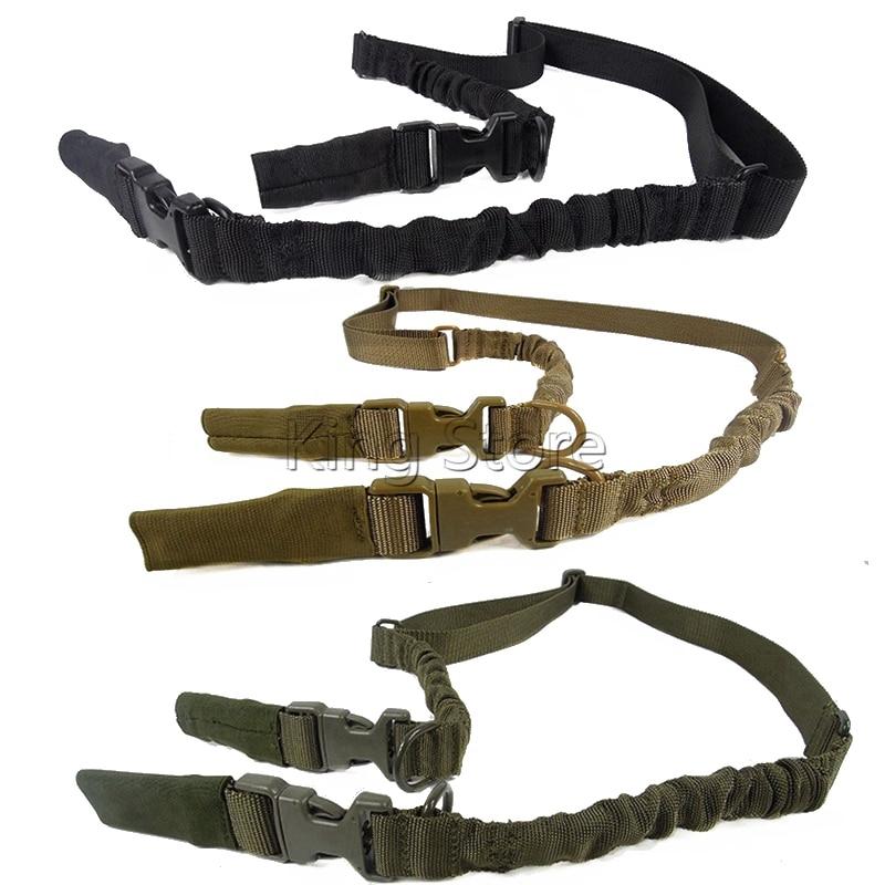 Outdoor Hunting Tactical Nylon Multi-function Adjustable 1 or 2 Point Rifle Gun Sling Quick Detach QD Swivel End Gun Strap