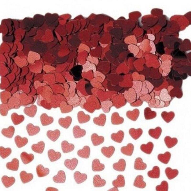 500 pçs/lote 1cm jogando flores coração fragmentos de papel cama propagação flor casamento quarto adorno suprimentos casamento