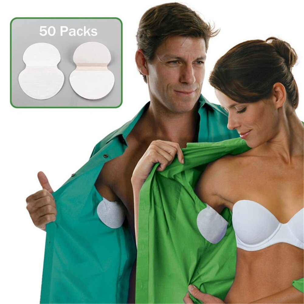 100 шт., 50 упаковок, одноразовые дезодоранты для подмышек