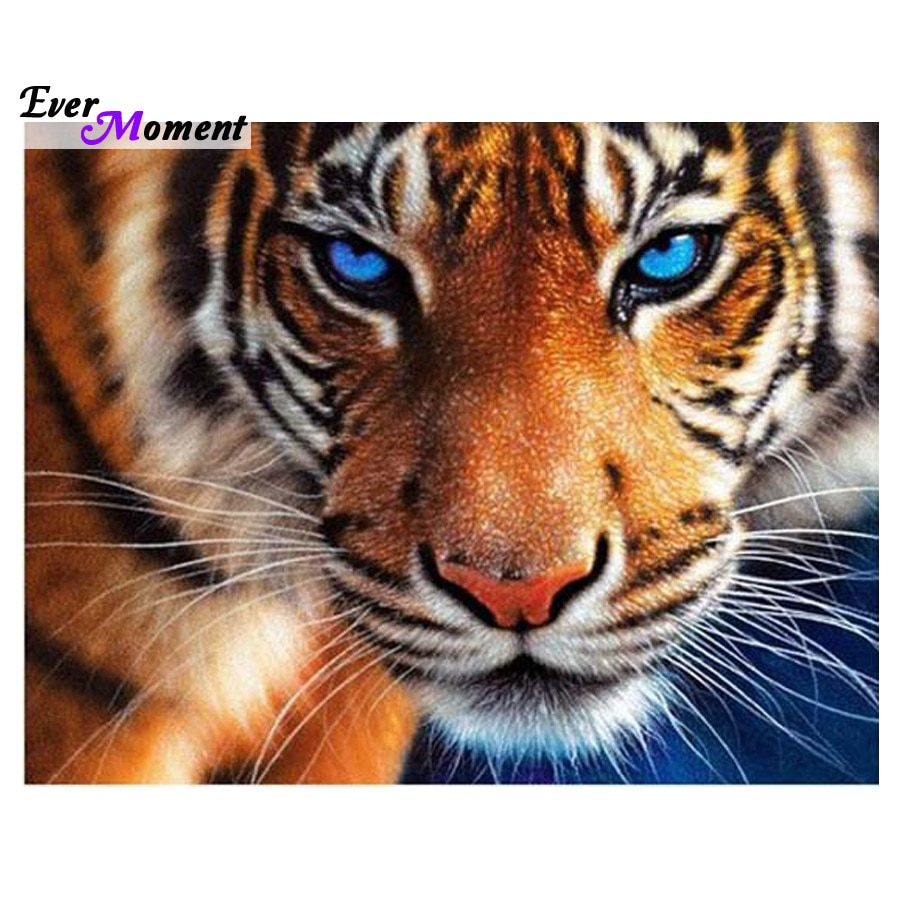 5D Diamond embroidery tiger diamond cross stitch diamond painting diy diamond painting animal ASF059