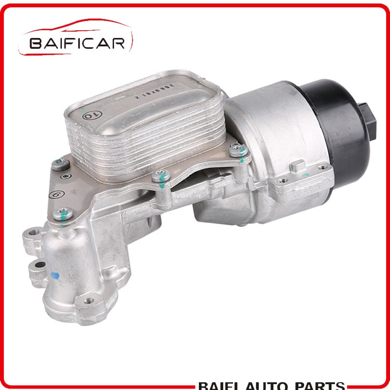 Baificar Marke Neue Echten Motor Ölkühler Filter Gehäuse V864374580 Für Peugeot 308CC 3008 Citroen C4 DS5 MINI 1,6 THP EP6