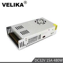 DC32V Netzteil Schalter 15A 480W Fahrer Transformator AC110V 220V zu DC 32V Power Liefert für Led lampe CNC CCTV Stepper Motor