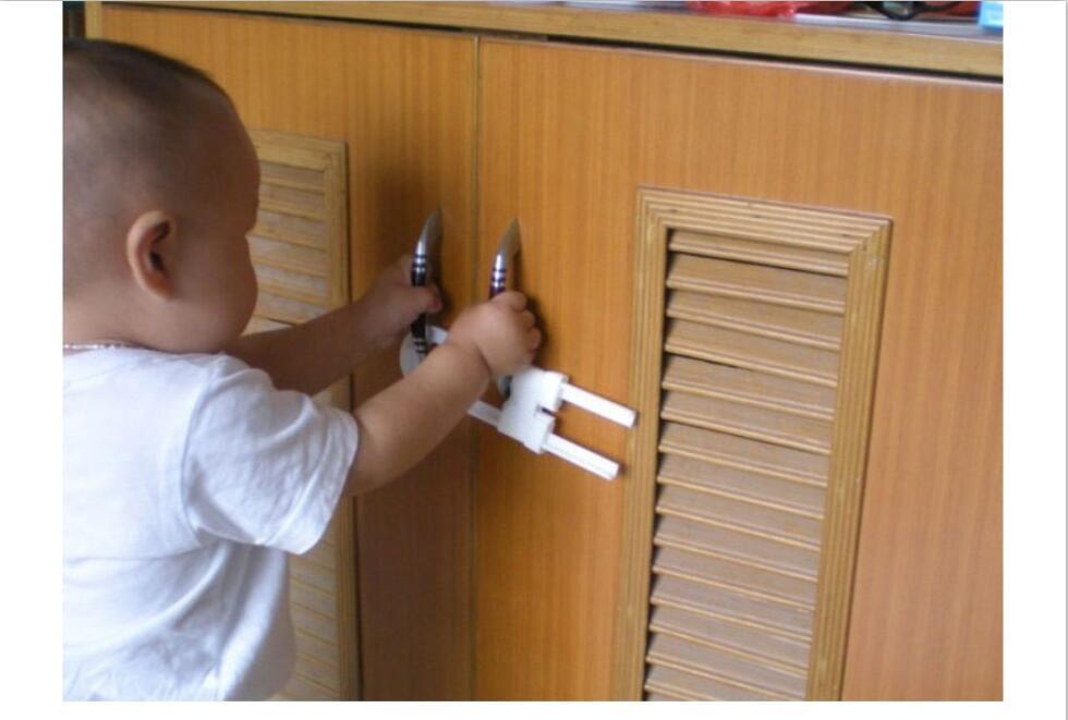 Armario puerta cajones refrigerador inodoro seguridad cierre de plástico para niño chico bebé seguridad mejor trato 2 unids/lote