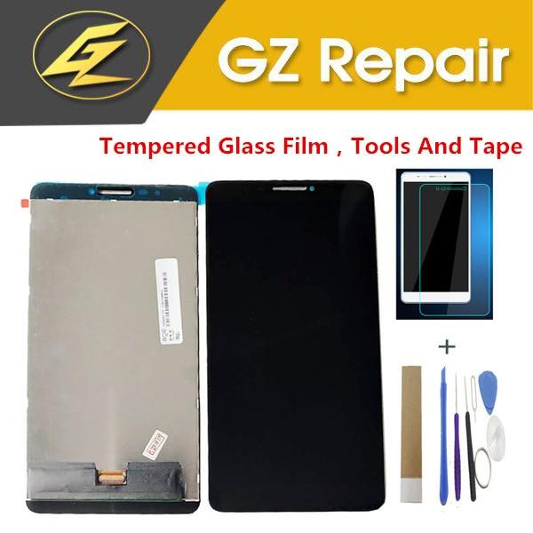 Para Lenovo Tab 3 Plus 7703X TB-7703X ZA1K0070RU pantalla LCD con Sensor táctil digitalizador montaje con cristal protector herramientas cinta