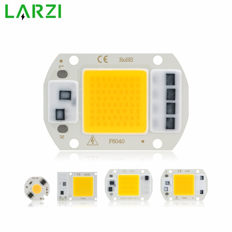 [mingben] 5pcs led cob chip 18w 15w 12w 9w 7w 5w 3w ac 220v smart ic light high lumen chip for bulb diy led spotlight light bead COB LED Chip Lamp 3W 5W 7W 9W 10W 20W 30W 50W 220V Smart IC No Need Driver LED Bulb for Flood Light Spotlight Diy Lighting