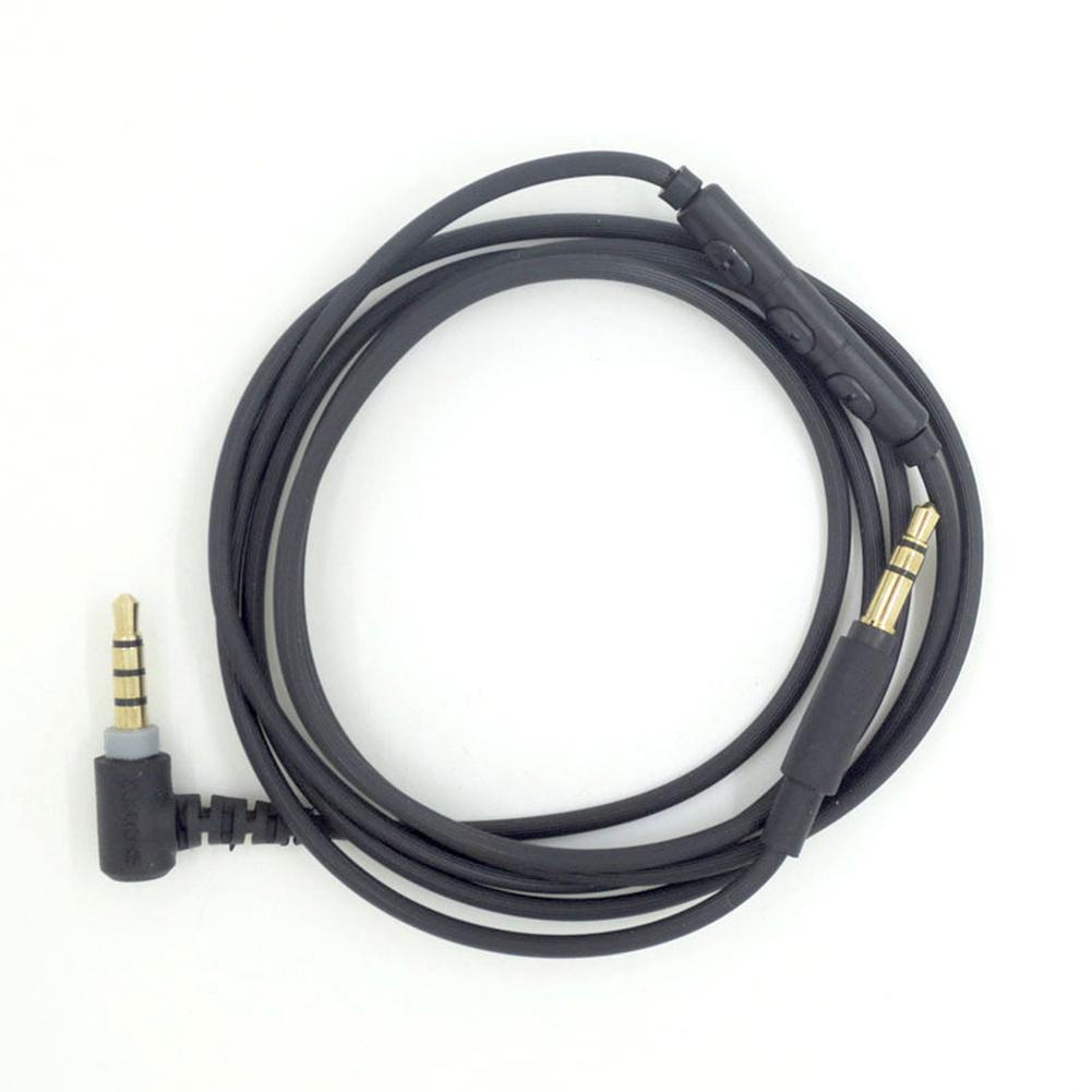 Auriculares de Audio de 3,5mm Cable macho a macho Cable Aux para MDR-10R MDR-1A XB950 Z1000 de Audio de Cable de auriculares