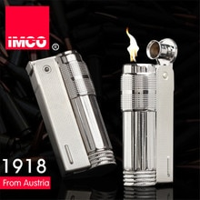 Original IMCO Lighter Old Gasoline Lighter Genuine Stainless Steel Cigarette Lighter Cigar Fire Briq