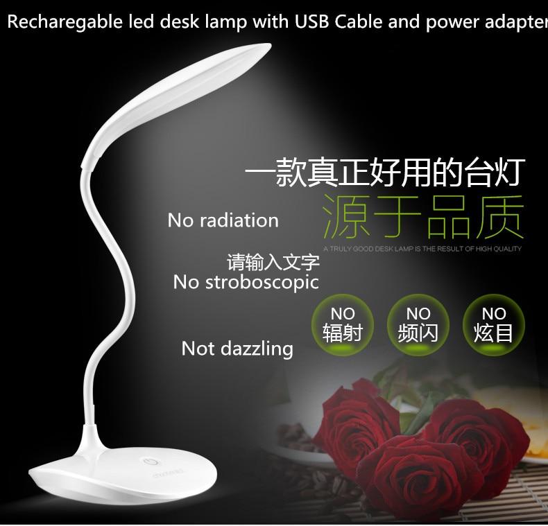Envío Gratis LED USB Lámpara de Escritorio Abajour Led lectura libro luz...