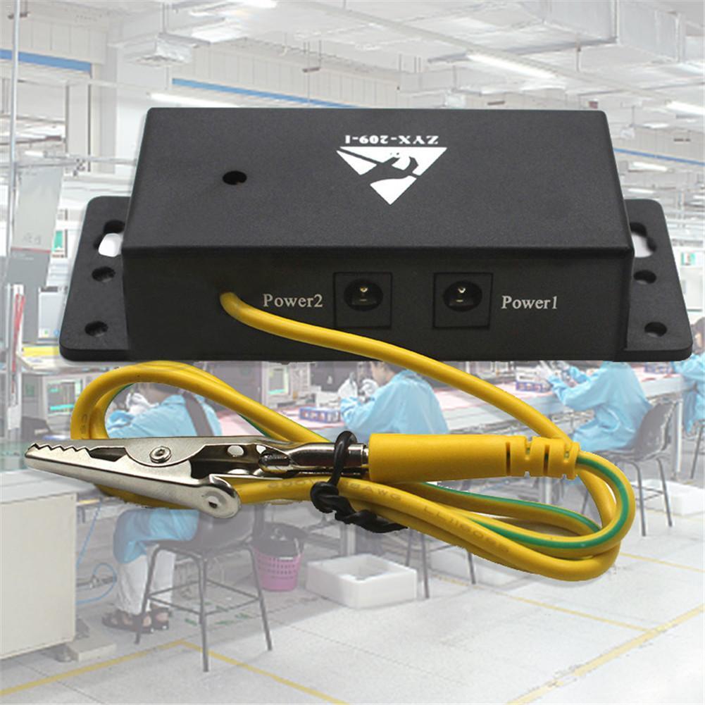 Esteira antiestática 400*300*2mm da esteira antiestática do esd da cobertura do auto-alarme para o trabalho de reparo + fio à terra + verificador da correia de pulso do esd
