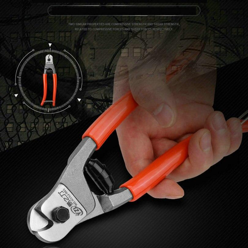 HQ WC1 alliage de CH-V de luxe 8 pouces 20 CM forgé acier coupe-câble pinces Max 5mm câbles et fil dacier coupe outil coupe forte