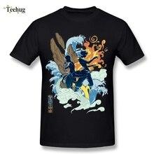 Quality Mens Avatar The Last Airbender T Shirt The Legend of Korra T Shirt Summer Fashion Streetwear Camiseta