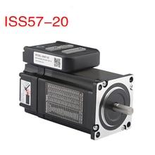 Originele Leadshine NEMA 23 Closed-loop geïntegreerde machine ISS57-20 of IES2320 2N. m with1000 encoder & een servo drive