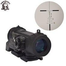 Portée de fusil tactique DR rapide détachable fixe Multiple 4X double rôle vue Airsoft portée magnifique portée pour la chasse